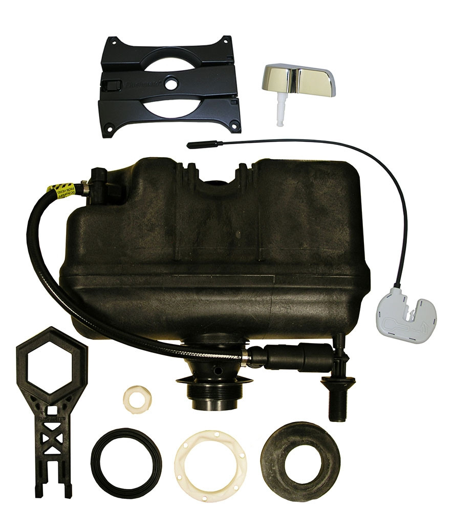 Flushmate 501-B Replacement Tank and Handle Kit